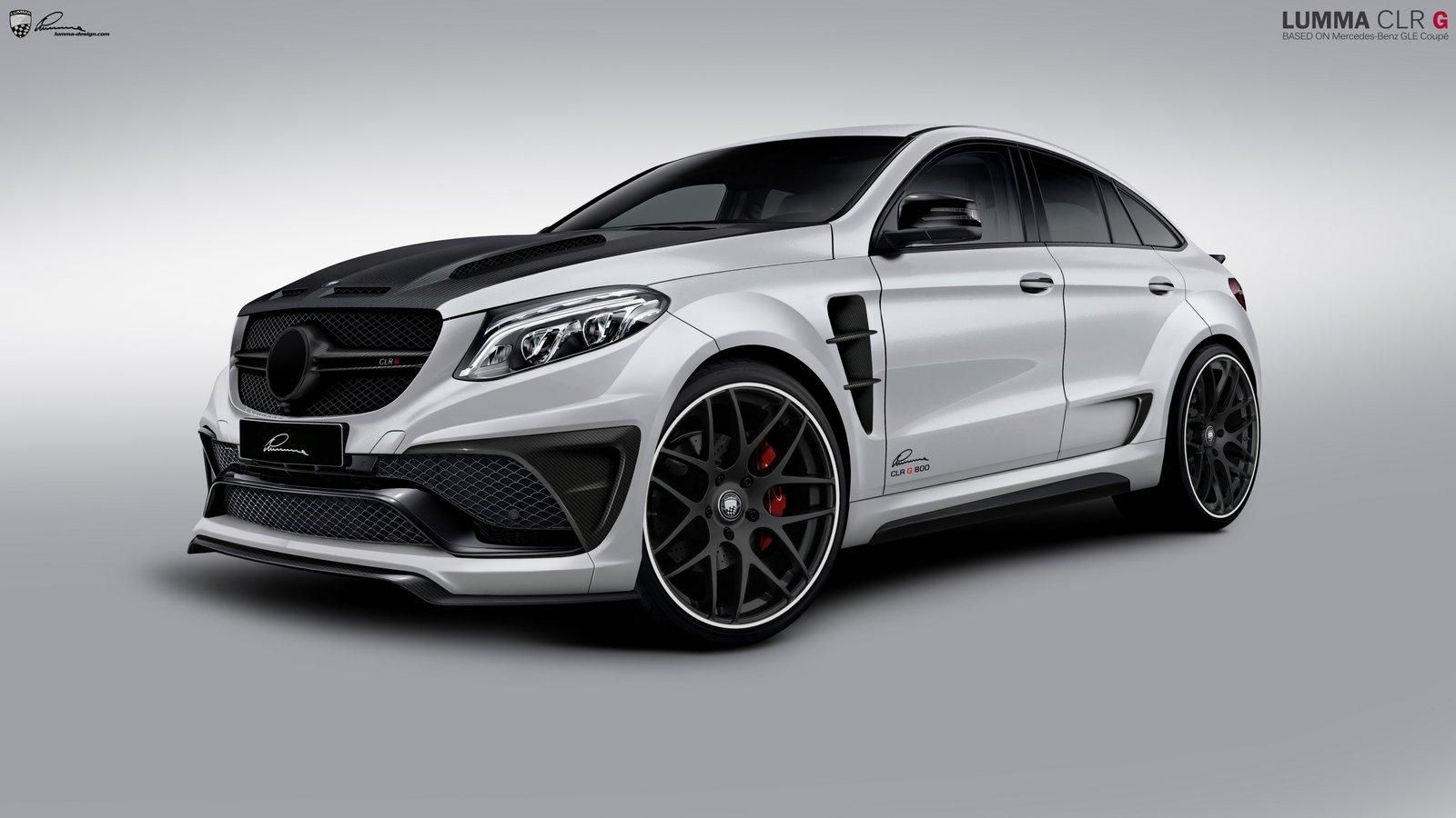 Mercedes benz gle 63 amg by lumma benztuning performance and style