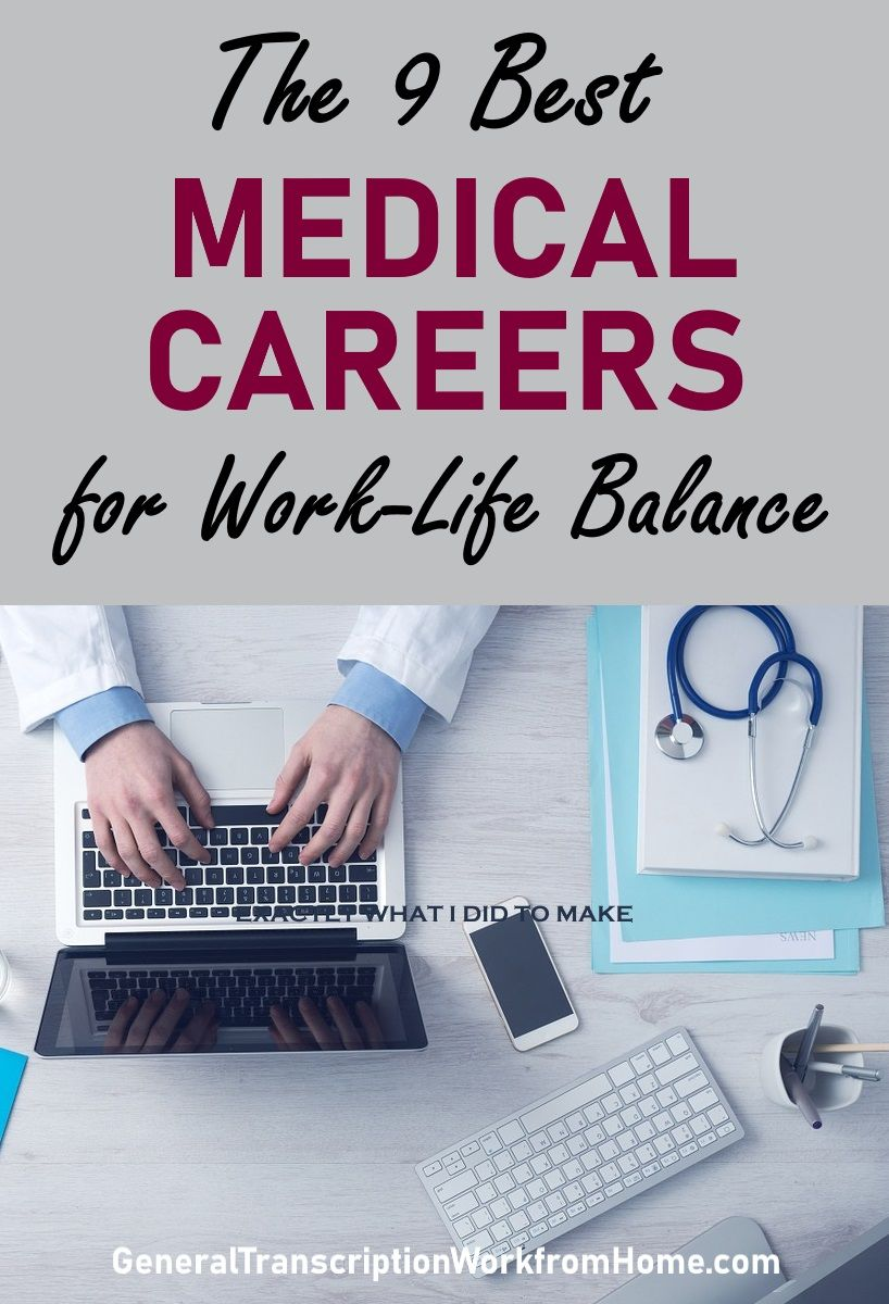 The 10 Best Medical Careers for WorkLife Balance