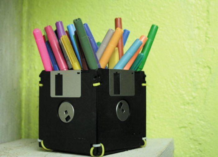 ▷1001+ idées pour fabriquer un pot à crayon adorable soi-même