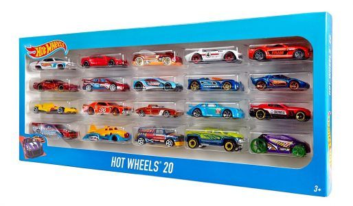 Hot Wheels Pack 20 Vehiculos Mattel H7045 25 95 Hot Wheels Toys Hot Wheels Hot Wheels Cars