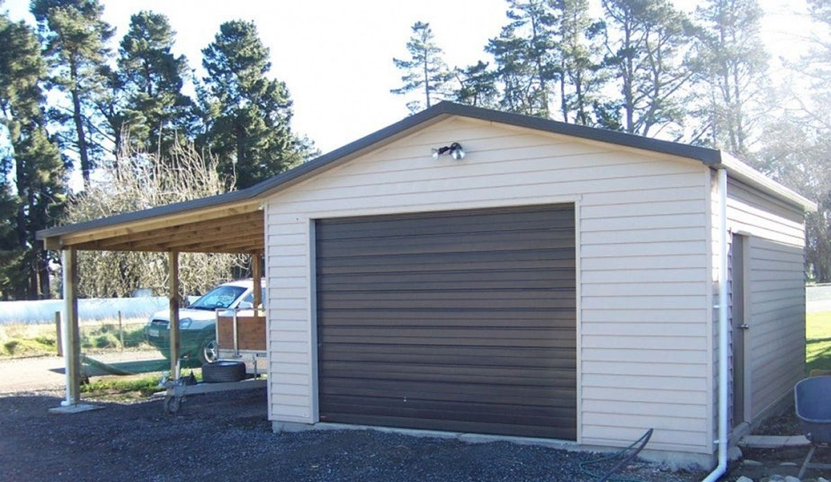 Single Garage with Carport Single Garage Versatile