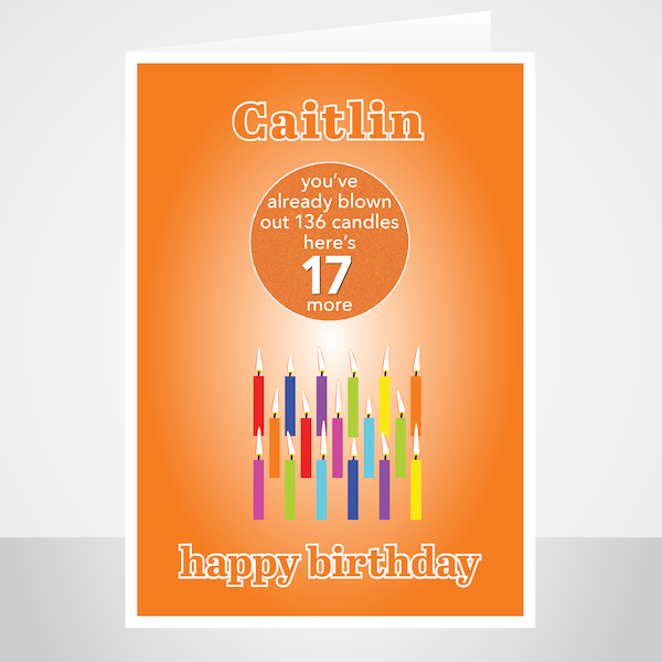 Funny Edit Name 17th Birthday Card For Boy For Girl Candles Artwork By Stuar Birthday Cards For Boys Happy Birthday Cards Printable Birthday Cards For Her
