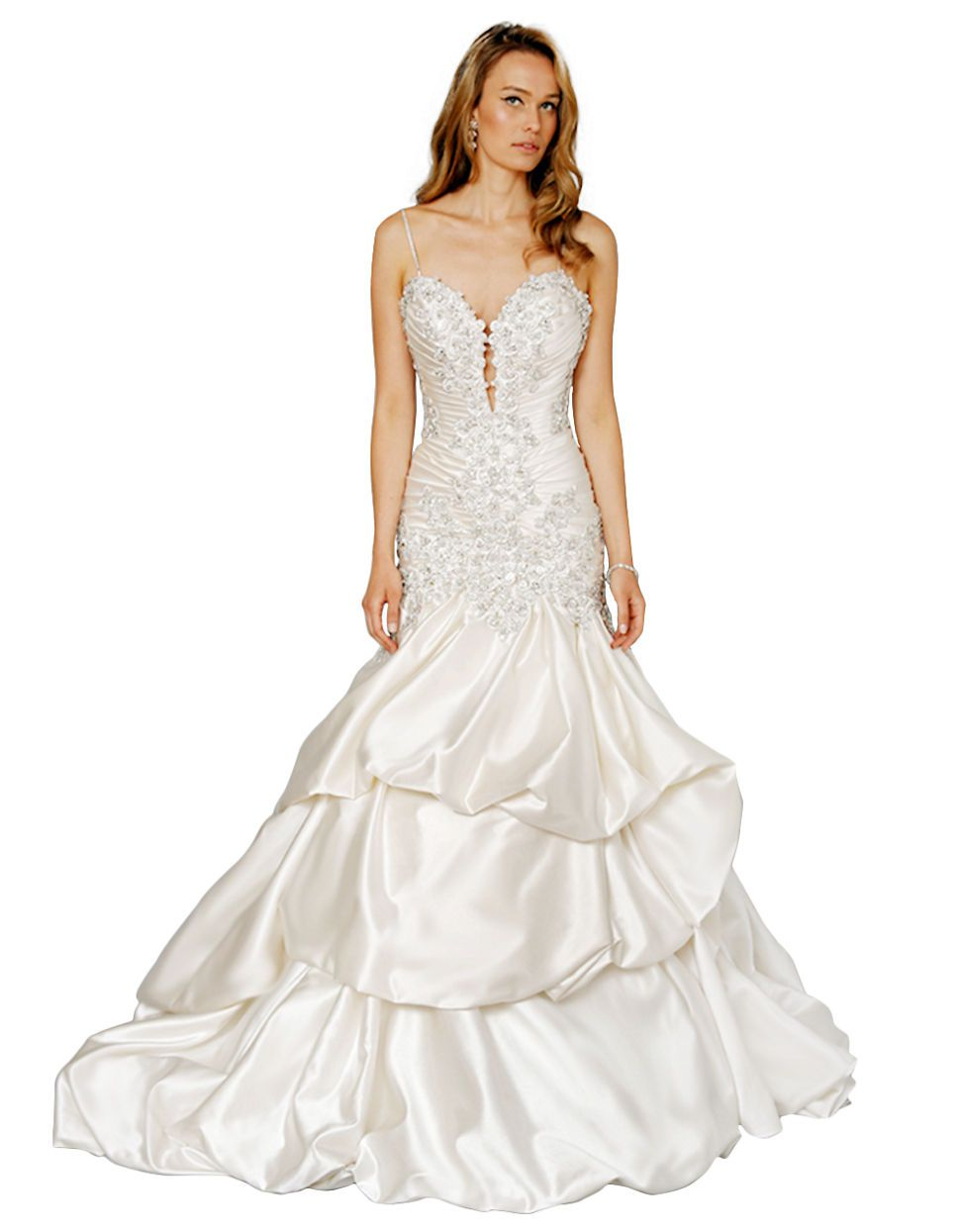 Sweetheart Mermaid Gown in Silk Charmeuse by Pnina Tornai | Hudson\'s ...