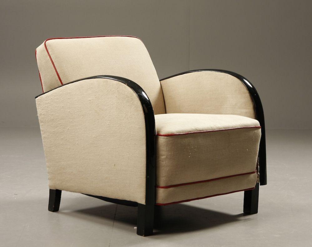 Art deco style chairs - Swedish Art Deco Chair Designerwallace