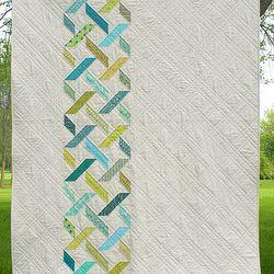 Threadbias: Diamond Tread Quilt Pattern