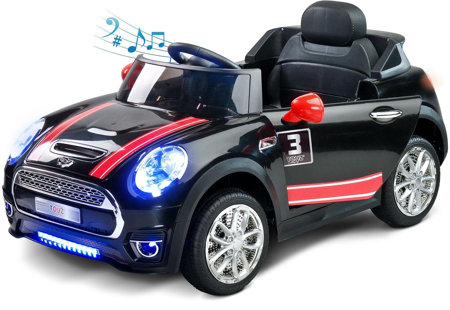 Electric rideon car Maxi 12V black with remote control