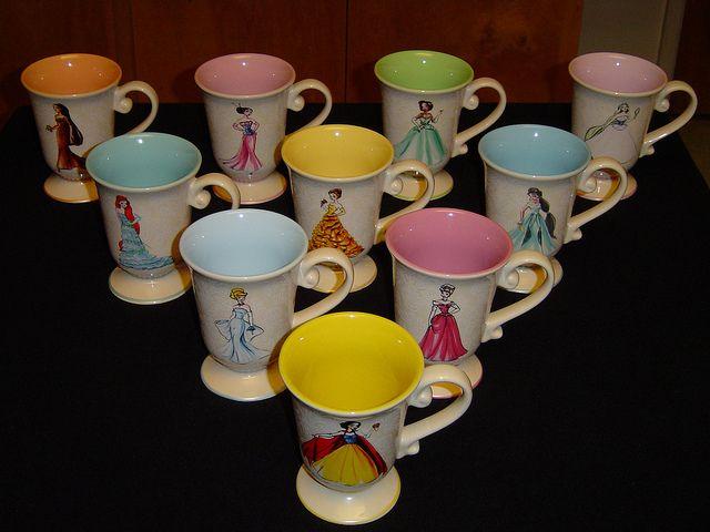 Disney Princess Designer Collection Mugs Front Side