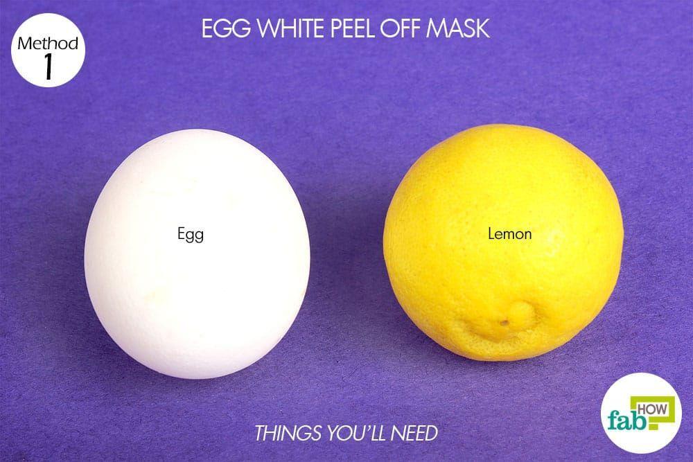 things you'll need to make diy peel-off facial mask without gelatin #PeelOffFaceMaskRecipe