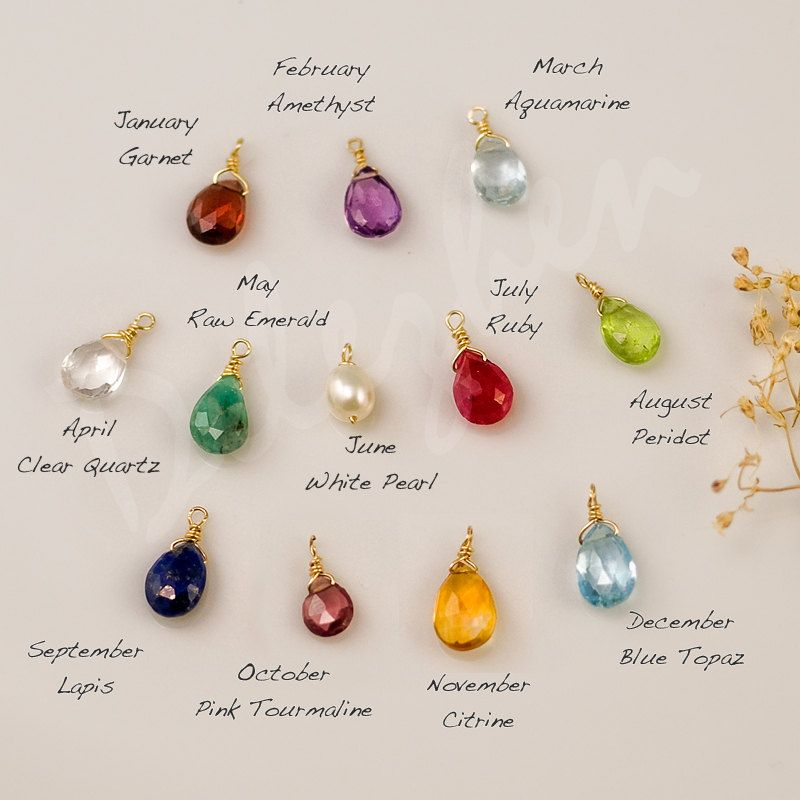 37++ Birthstone jewelry that can be added to info