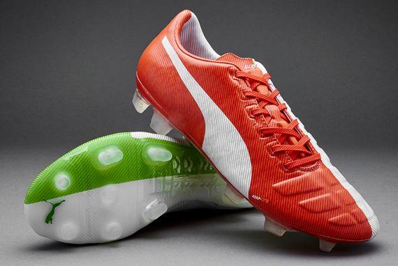 Puma evoPOWER Tricks FG Balotelli - Red/White/Green Created especially by  Puma for