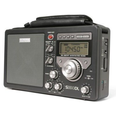 Eton S350DL AM/FM Shortwave Deluxe Radio Receiver (Black)