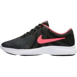 Photo of Nike girls revolution 4 (gs) running shoes, size 36 ½ in black / pink, size 36 ½ in black / pink Ni