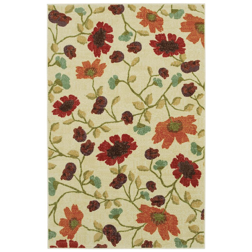 A Rug With Floral Patterns Helps Breathe New Life Into Your Decor