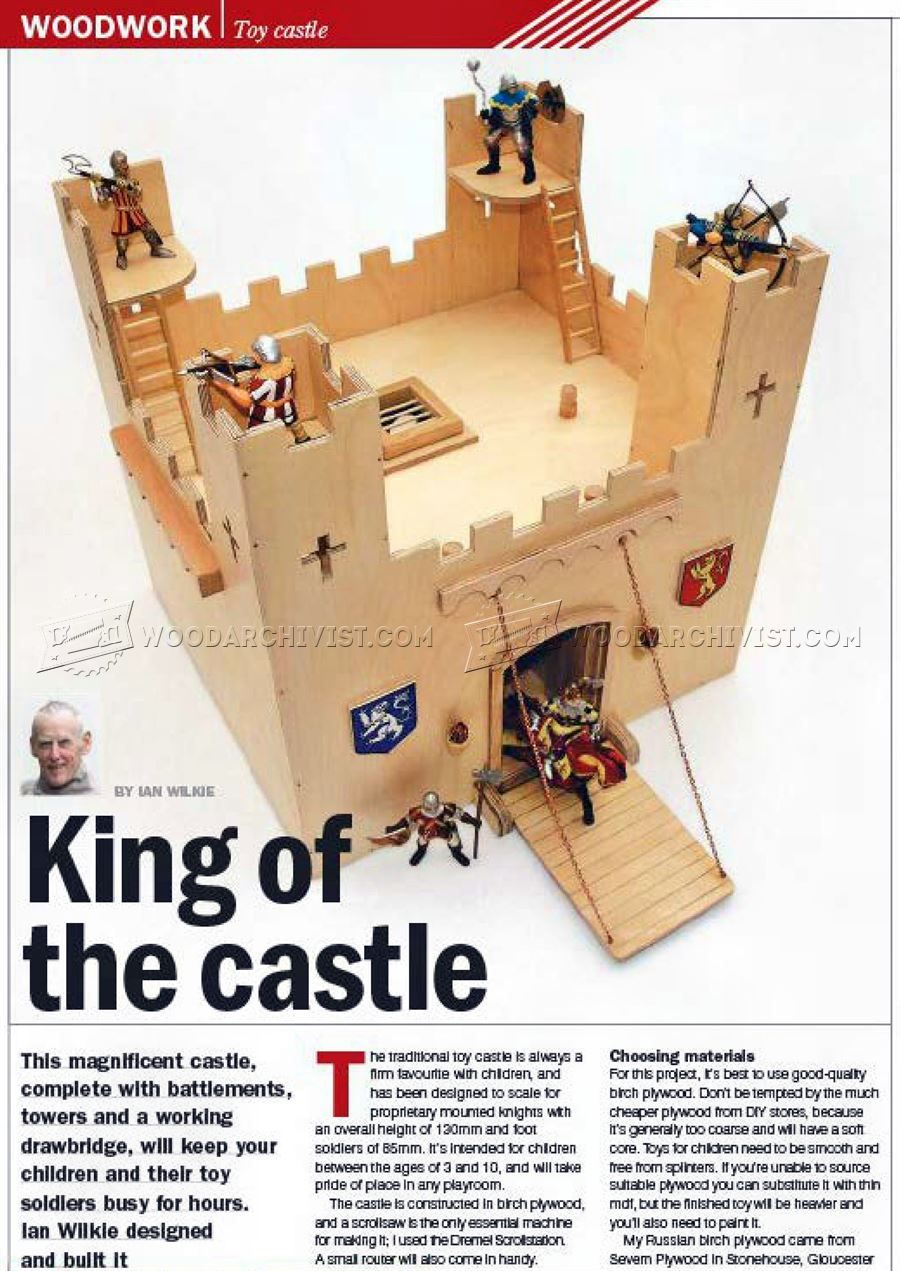 wooden castle plans | kreativne igrackice | diy wooden toys