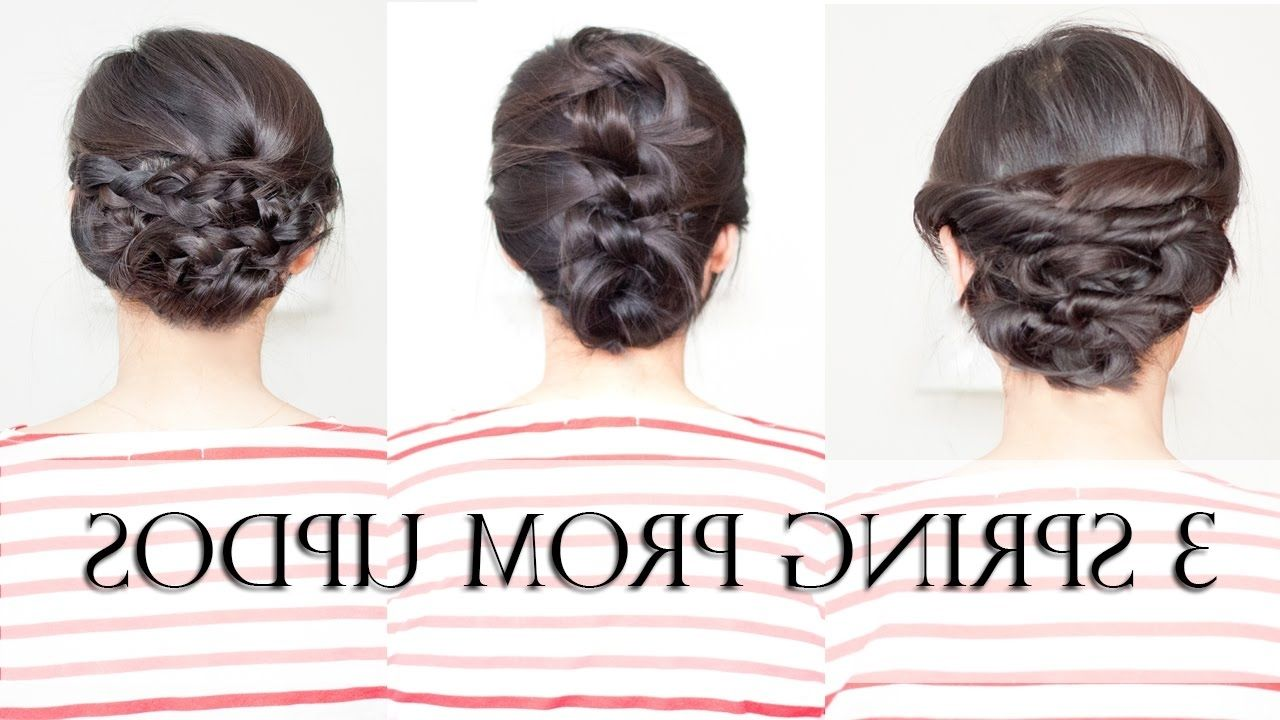 Formal Hairstyles For Medium Hair With Braids | My Style | Pinterest ...