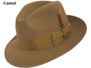 c9536c3ef9a Capas Untouchable Wool Felt Fedora Hat