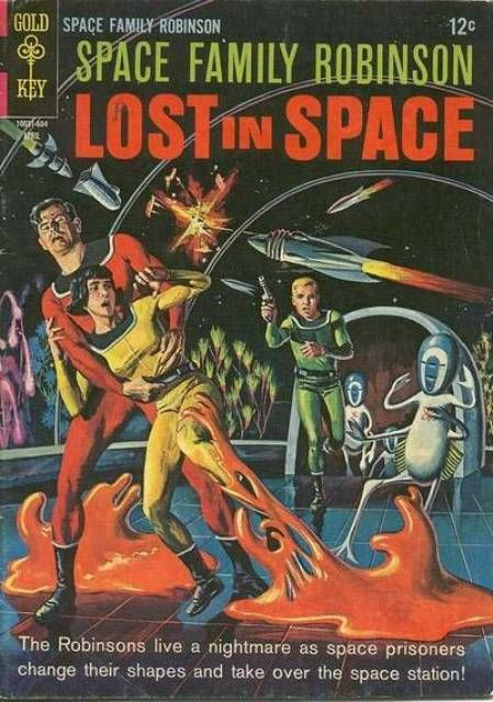 Space Family Robinson #8 - Peril on Planet Four (Issue
