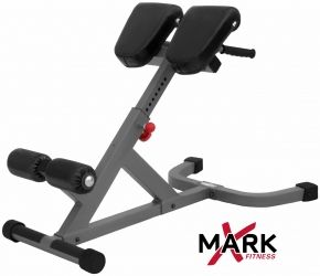 Xmark Fitness Ab Back Hyperextension Roman Chair Strength Training Equipment Adjustable Weight Bench Weight Benches