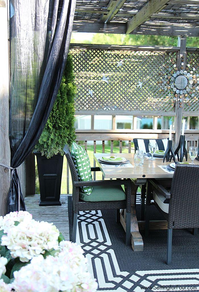 setting for four summer deck decor httpwwwsettingforfourcom - Deck Decor