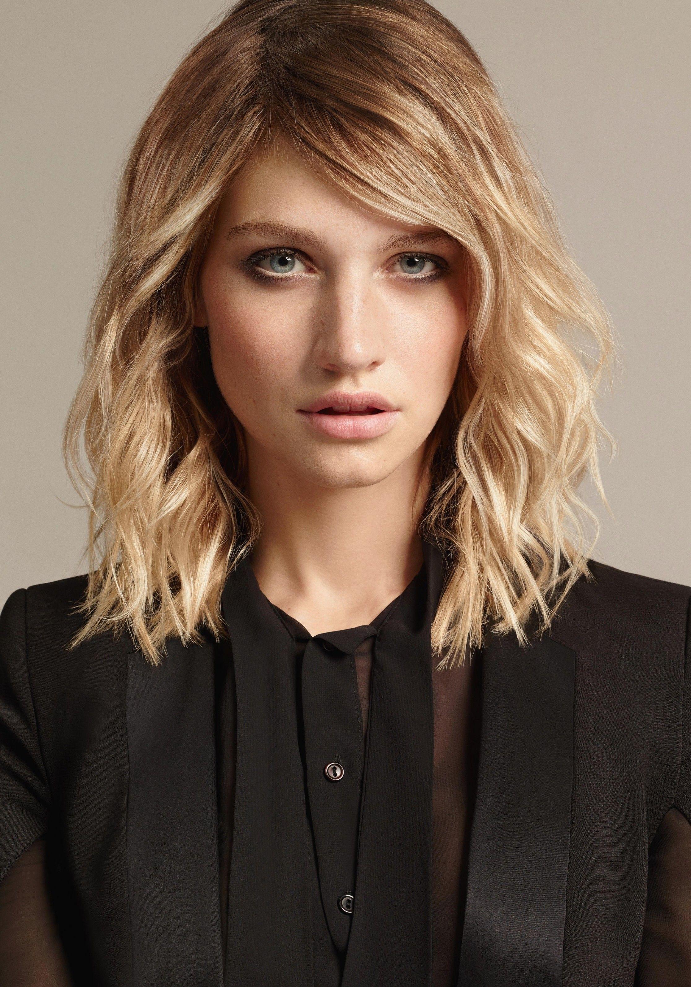 Frisuren Frauen Mittellanges Haar Frauen Frisuren Mittellanges