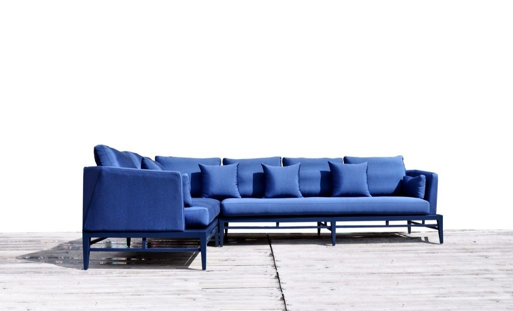 This Royal Blue Holly Sectional has our undivided attention today; ...Custom manufactured in our Wynwood studio ...our favorite color,  hands down!   #bluesectionals #kmpfurniture #miami #miamifurniture #modernsectionals #interiordesigners #interiordesign #stunninginteriors #preconstructionapartmentsmiami #downtownmiami #design  http://www.kmpfurniture.com/fire_collection/category_10/product/holly-sectional_1563.html