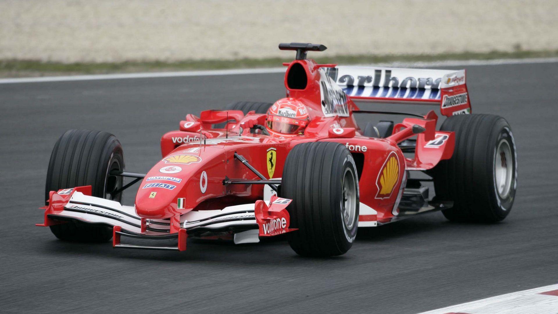 2005 Ferrari F2004M (Michael Schumacher) 2005 Formuła 1