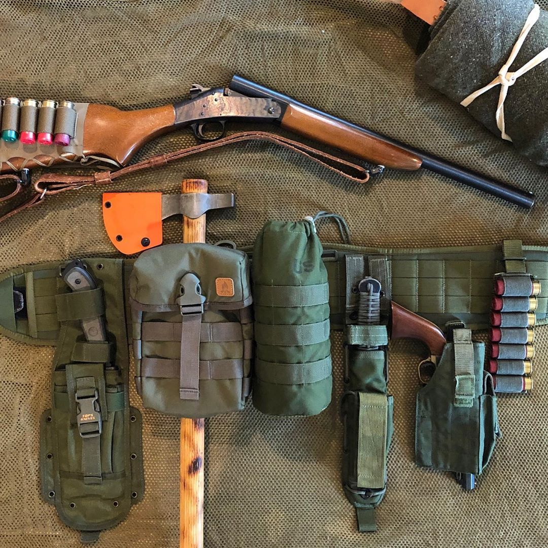 """Photo of Orion Foundation on Instagram: """"Ready for a pre-season scout this weekend with another variation of the """"bushcraft battle-belt""""…. #bushcraft #bushcraftgear…"""""""