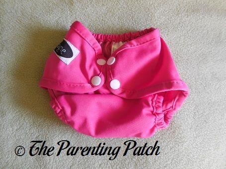 Raspberry Imagine Newborn Diaper Cover 1
