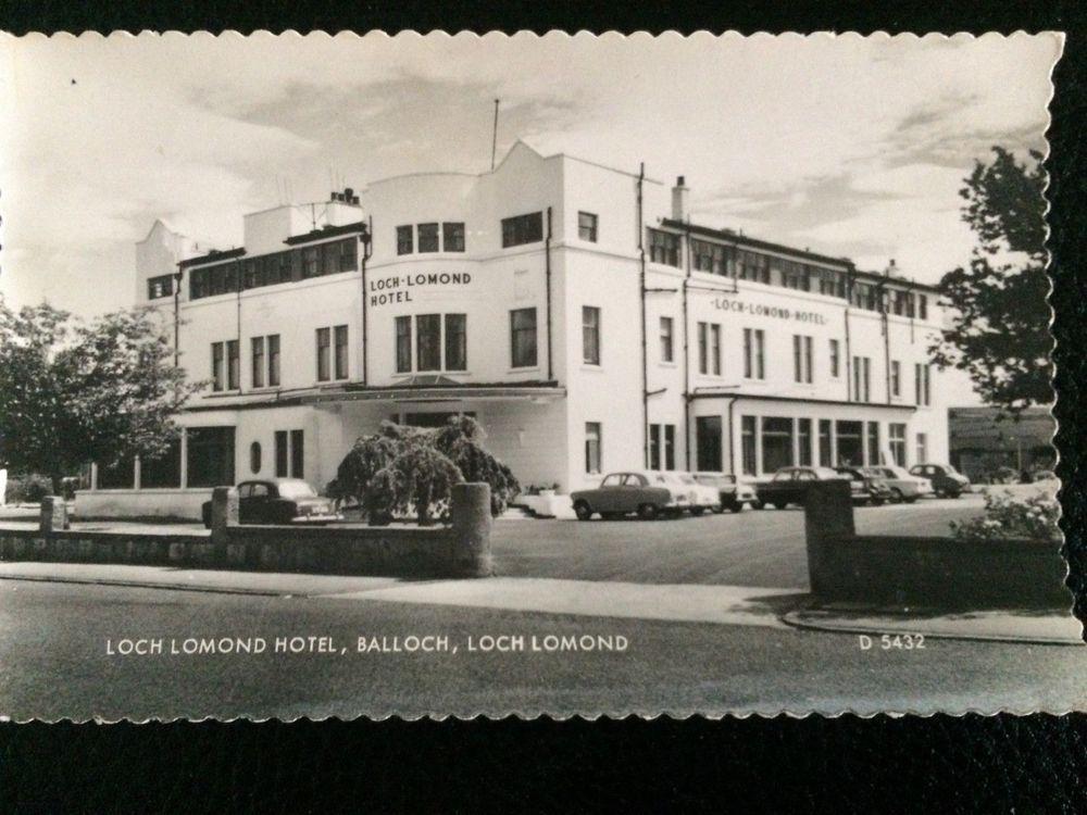 Loch Lomond Hotel Balloch Scotland Postcard Rp