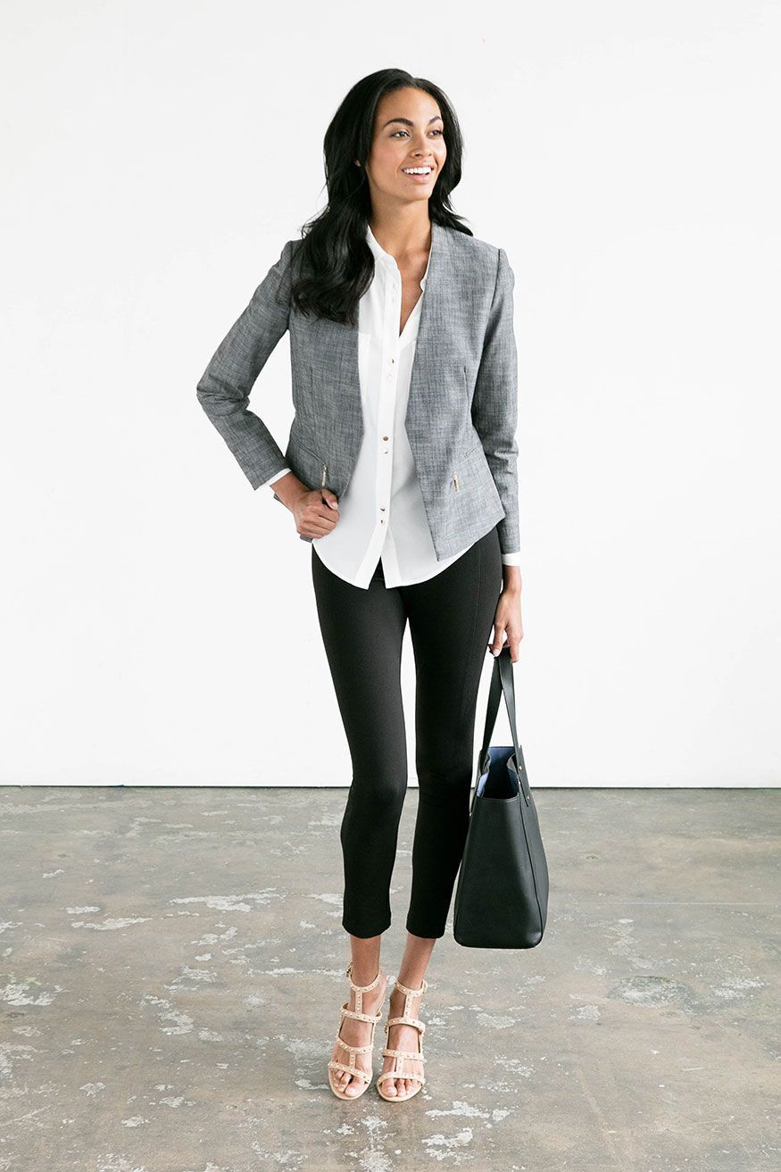 10 Early Summer Pieces 20 Work Outfits Work Fashion Summer Work Outfits Work Outfit [ 1313 x 875 Pixel ]