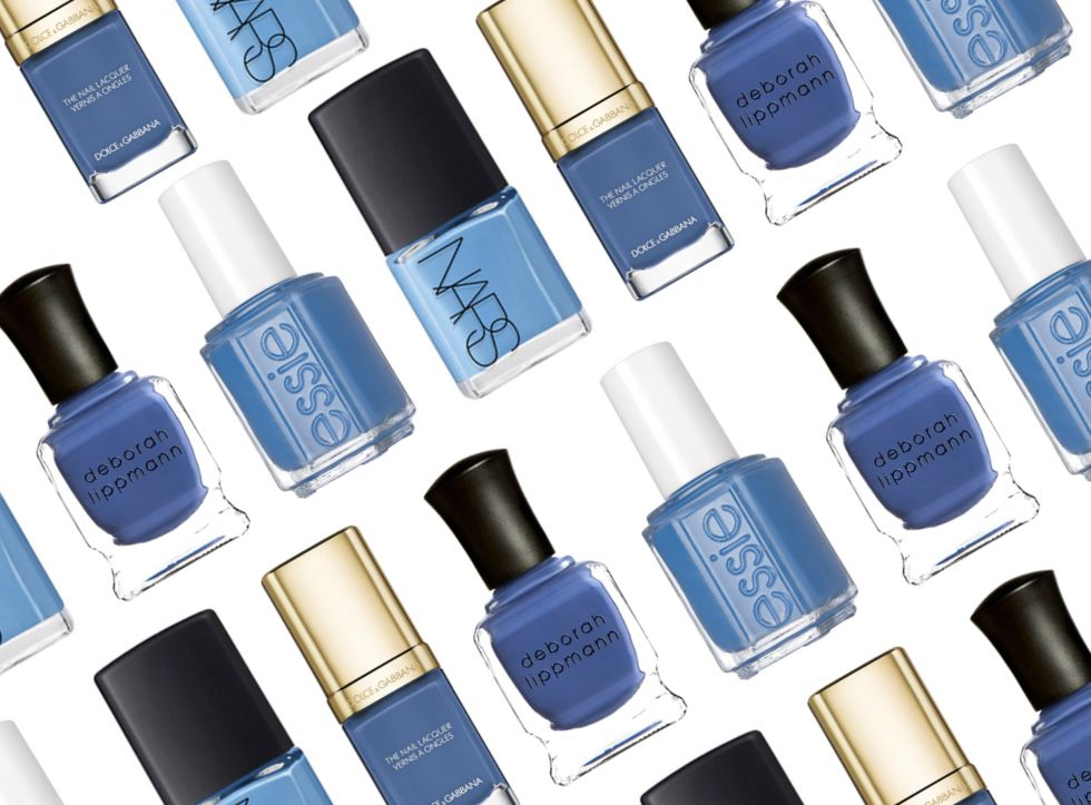 6 Best Serenity Blue Nail Polish Colors 2016 - Pantone Color of the ...