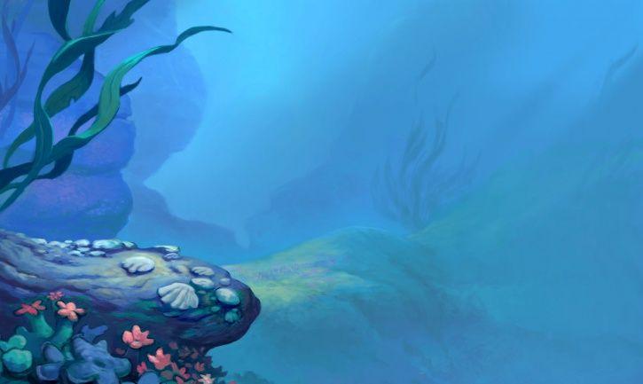 Little Mermaid Background Mermaid Background Under The Sea Life Under The Sea