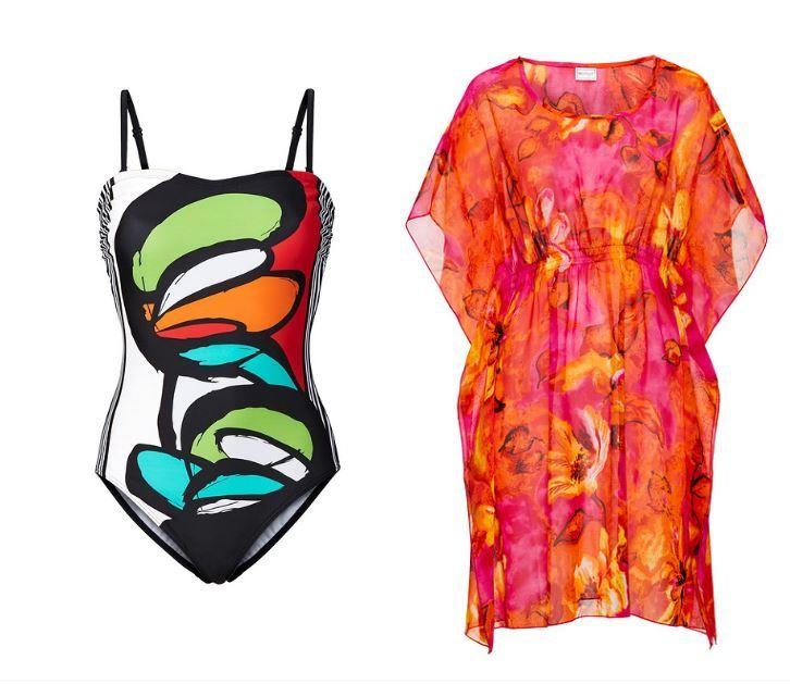 b2803fd7d389 Všetky plavky dostupné aj vo veľkostiach pre moletky. Vystužená podprsenka  alebo voľnosť  Plážové šaty