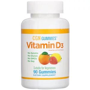california gold nutrition 비타민d3 구미젤리 젤라틴 무함유 글루텐 무함유 혼합 베리 및 과일 맛 25mcg 1 000iu 구미젤리 90개 베리 젤라틴 과일
