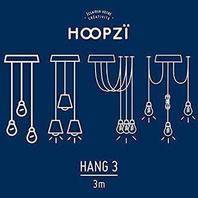 HOOPZI éclairer votre créativité \u2022 Hang 3 \u2022 Créez Votre Luminaire 3 - Couleur Des Fils Electrique