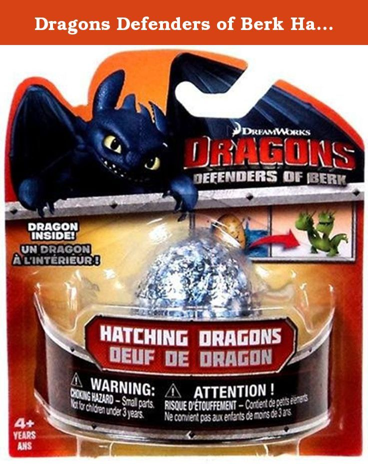 Dragons defenders of berk hatching dragons egg contains 1