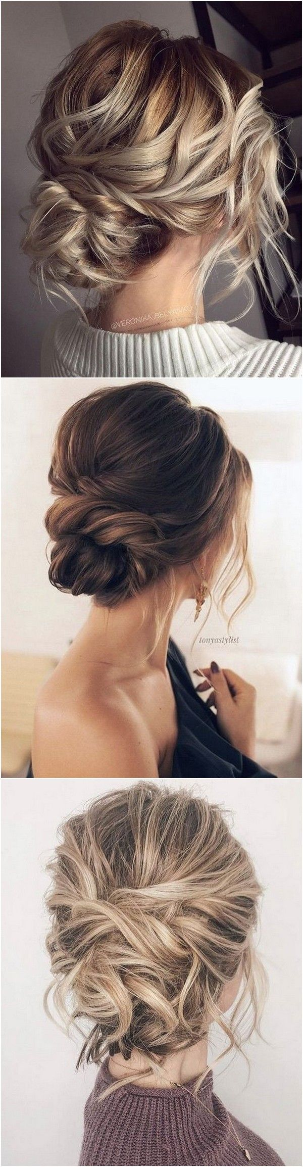 18 Trending Messy Updos Wedding Hairstyles You'll Love | Bridal +