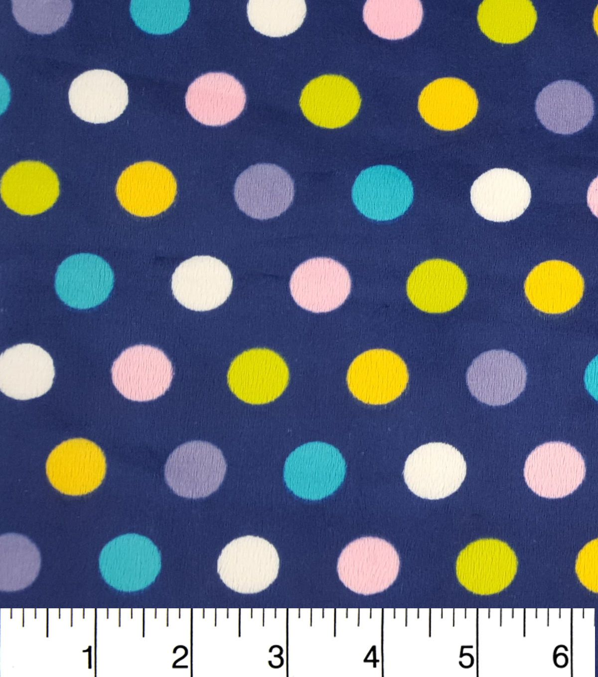 Soft n comfy fleece fabricfresh dots fabrics and products