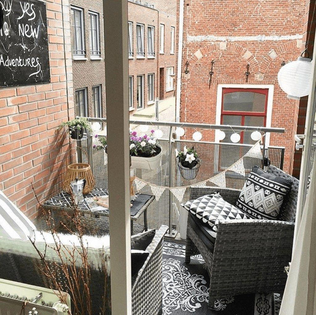 41 Fabulous Small Apartment Balcony Decor Ideas