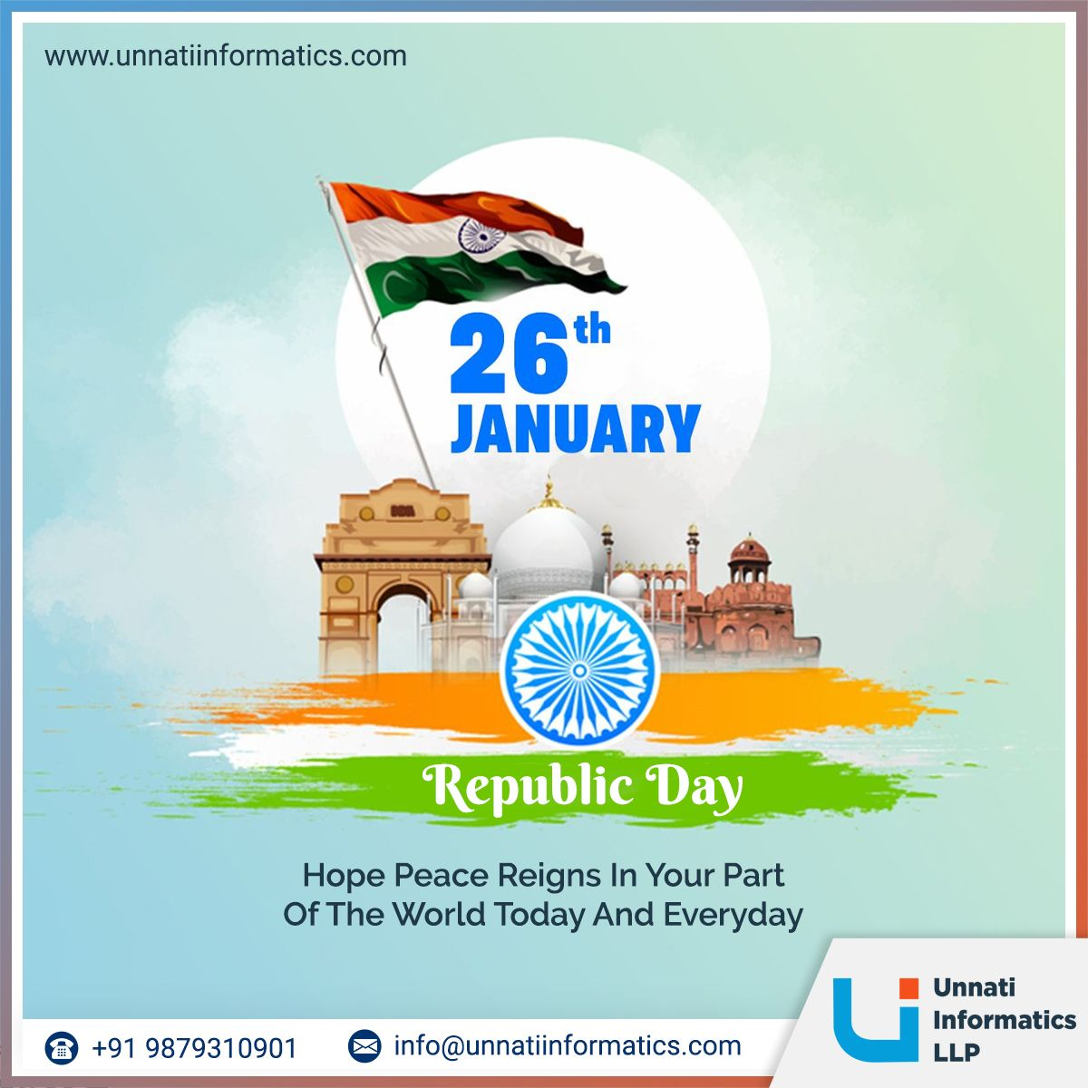 Happy Republic Day 2021 In 2021 Republic Day Republic Day India Day Happy republic day 2021 images india