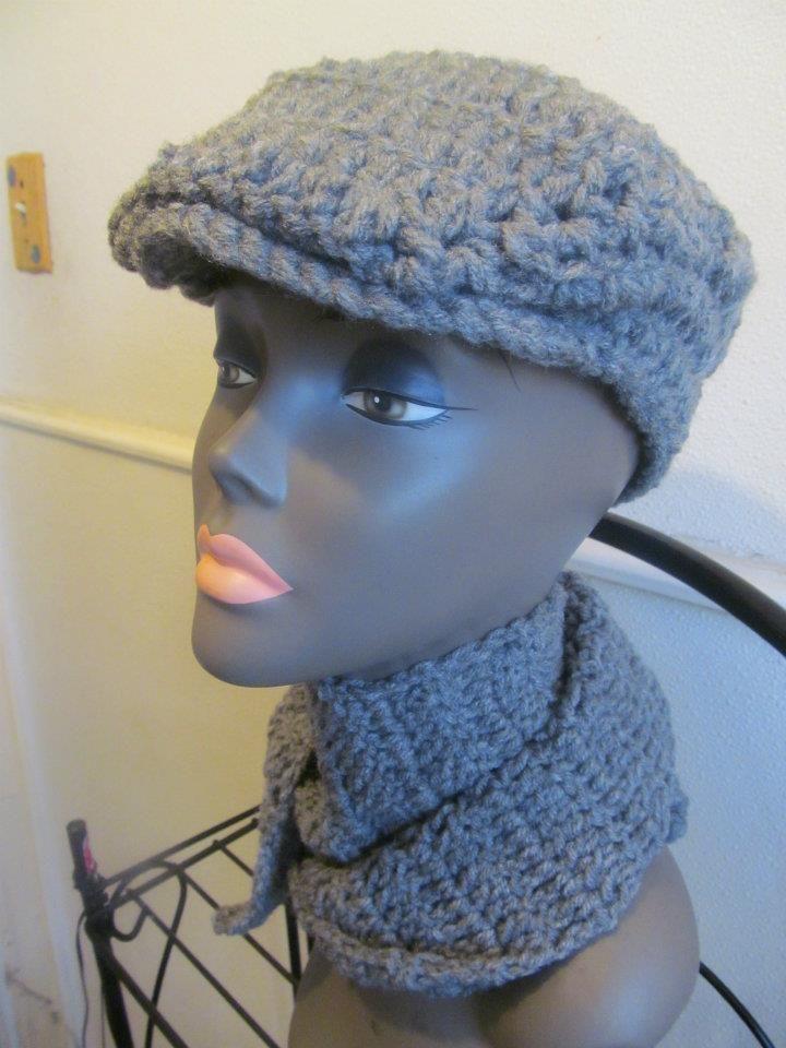 Crochet Kangol by Jess Handmade Designs! FREE Pattern!!!!! | Crochet ...