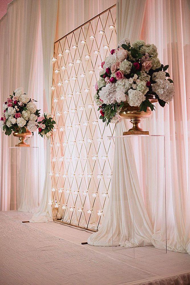42 Glamorous Rose Gold Wedding Decor Ideas My Wedding Favors And
