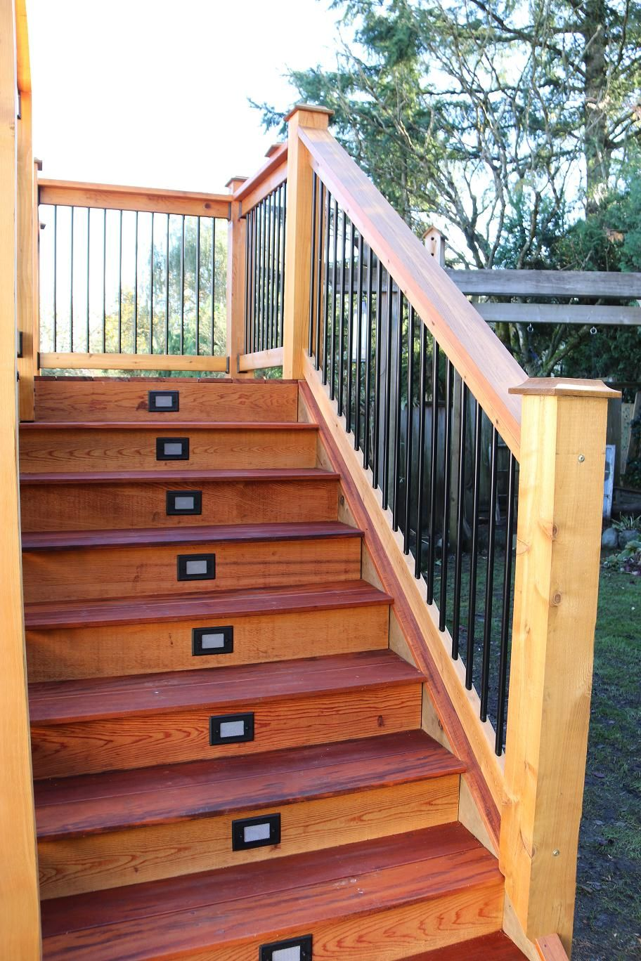 Residential Tigerwood Deck - supplied by POCO Building ...