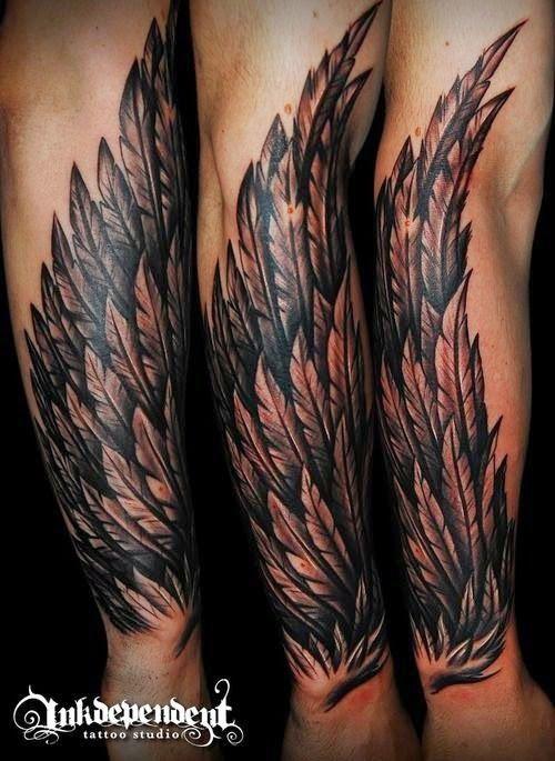 los mejores tatuajes de alas fen menos naturales pinterest tattoo and tatoo. Black Bedroom Furniture Sets. Home Design Ideas