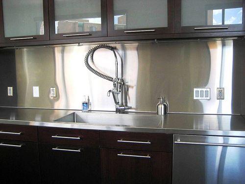 Fabulous Kitchen Backsplash Metal Stainless Steel 500 X 375 · 91 KB · Jpeg