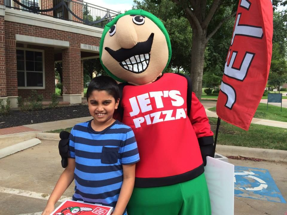 Hey there jets pizza man fashion