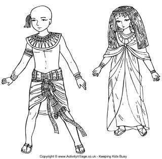 egypt coloring pages for preschoolers - photo#17