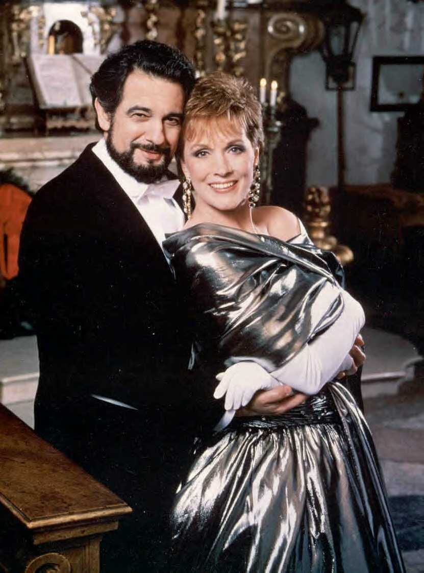 1987 The Sound of Christmas Julie Andrews and Placido Domingo ...