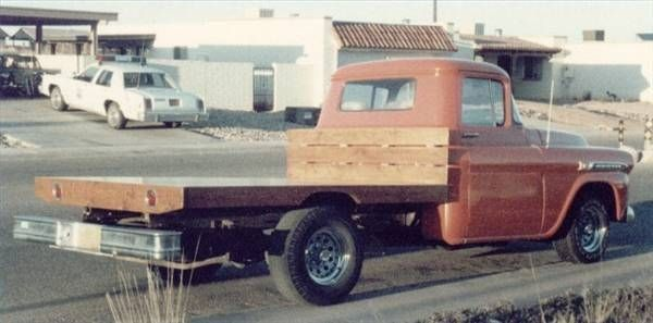 How To Build A Flatbed Truck Out Of Wood Stuff To Buy Truck