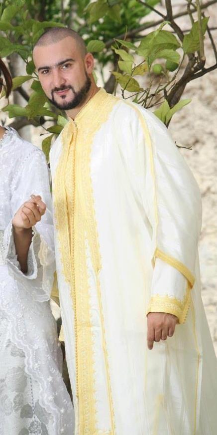djellaba marocain homme pour mariage